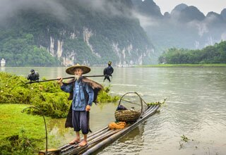 Fisherman in Guilin