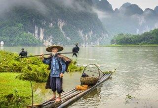 Fisherman in Guilin