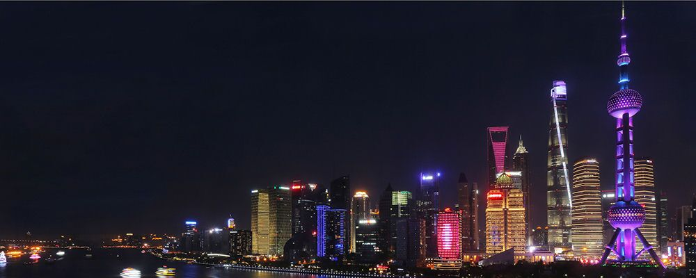 Shanghai Port Night View