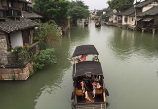 Boats in Wuzhen