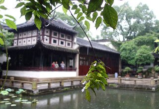 Pavillion in Suzhou Garden