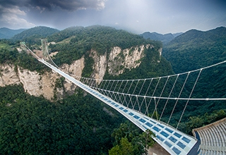 Longest Glass-bottomed Bridge