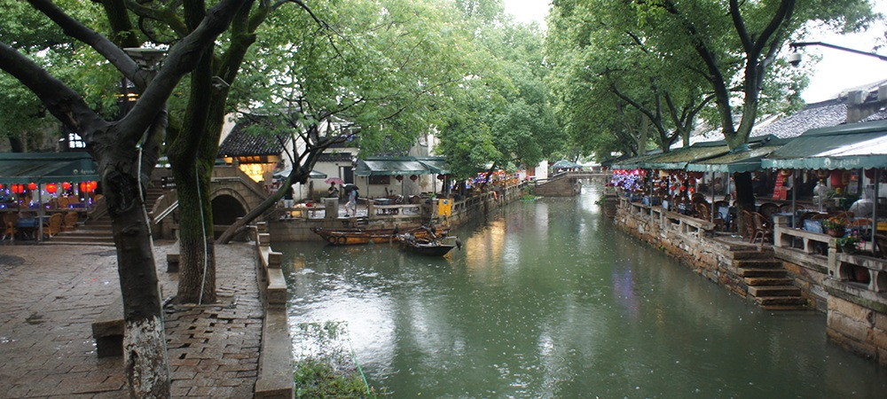 A Rainy Day in Tongli